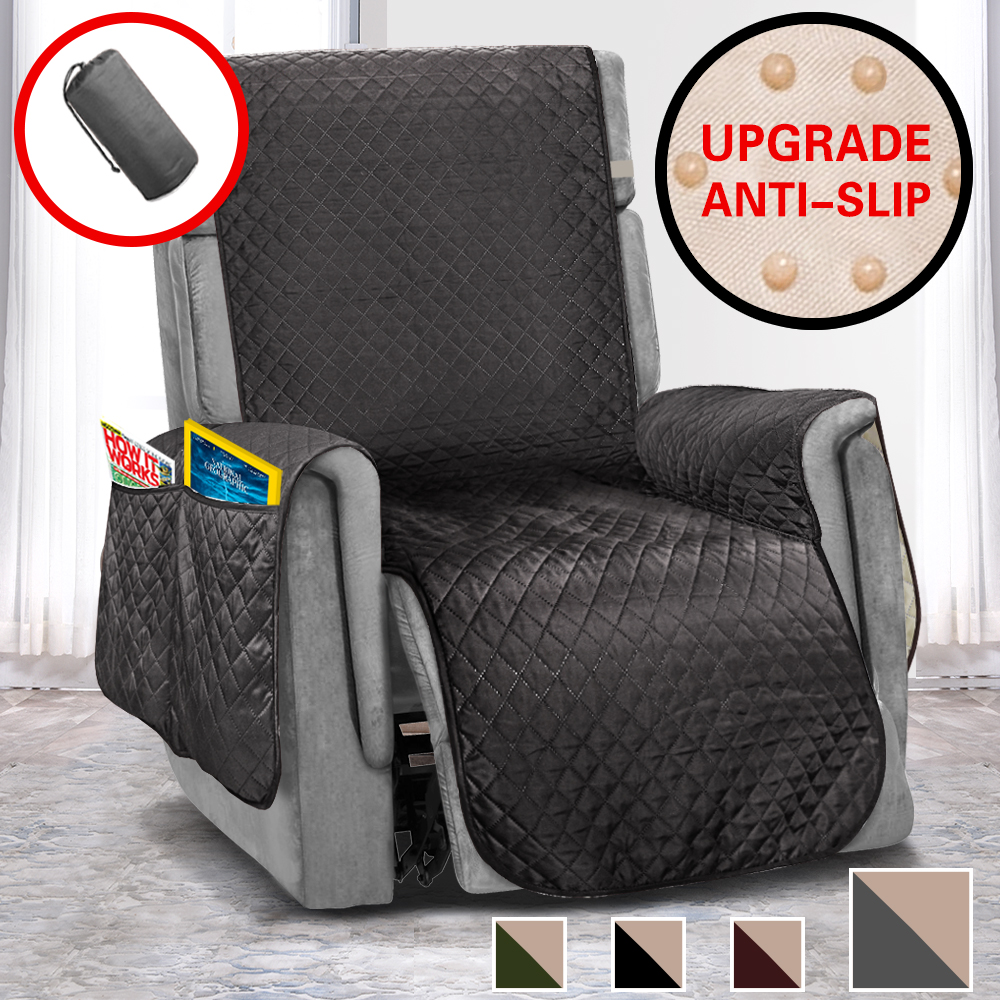 US $6.6 6% OFFSofa Covers For Living Room Quilted Chair Couch Cover  Slipcovers Anti slip Armchair Furniture Protector For Kids Pet Dog CatSofa