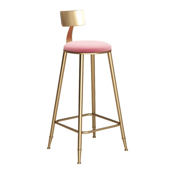 Nordic marble golden bar tables and chairs light luxury net red bar chairs bar chairs high chairs фото