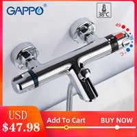 GAPPO bathtub faucet thermostatic faucet bathroom mixer tap bath faucets Waterfall taps bath bath set bathroom system