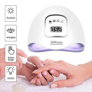 Image 4 - 80w/72w sunx5 max uv conduziu a lâmpada para secador de unhas lâmpada de gelo para manicure gel lâmpada de secagem para gel verniz