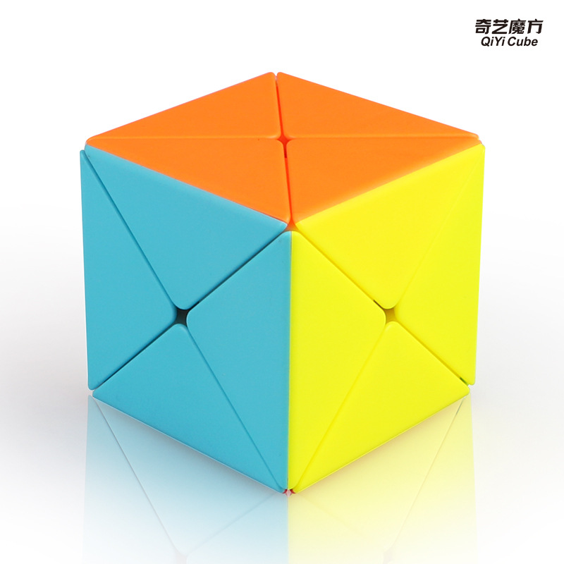 Newest Qiyi X Magic Cube Skew Puzzle Cube Professional Speed Cubo Magico Educational Toys For Students