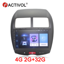 HACTIVOL 2G+32G Android 8.1 Car Radio for Mitsubishi ASX 2010-2012 car dvd player gps navi car accessory 4G Multimedia player