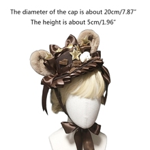 Sweet Lolita Ribbon Bowknot Mini Top Hat Cute Cartoon Plush Bear Ears Headdress Anime Kawaii Cosplay Hair Accessories
