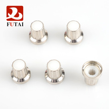 High quality Silver Plastic Translucent Knob Potentiometer Hat Cap Large Guitar Parts Push Knob with DIY electronic accessorie