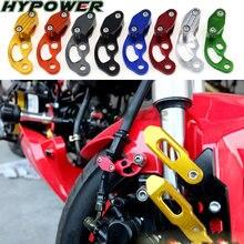 Cnc braçadeiras de linha de freio de motocicleta, para yamaha mt07 r6 r3 mt 03/07/09 tmax 500/530 r1 fz6 mt09 xj6 acessórios fz1 xj6 m109r fazer