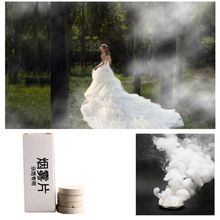 10 Pcs/set White Smoke Pills Halloween Props Combustion Smog Cake Effect Bomb Photography ProCM