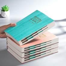 Zarządzanie czasem harmonogram książka 2021 kolor kalendarz daty kreatywny stół cewka planowanie przypomnienie harmonogram biurko V9X7