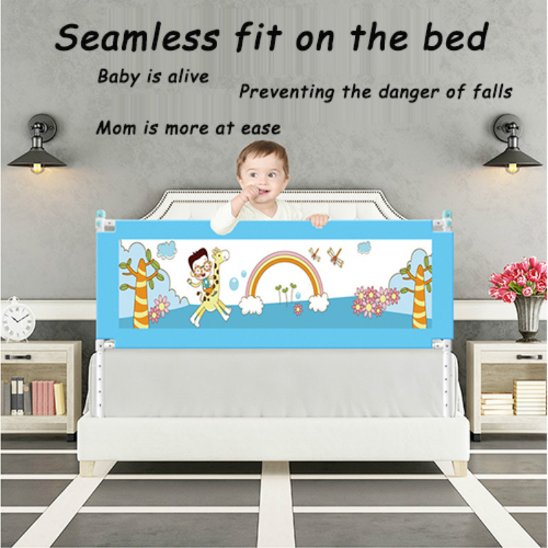 Baby Playpen Kids Bed Fence Safety Gate Babe Barrier For Beds Crib Rails Security Fencing Baby Playpen Child Bed Guard Rail