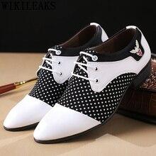 Официальная обувь; дизайнерские Роскошные итальянские брендовые свадебные туфли Мужские модельные туфли с острым носком; мужские кожаные туфли-оксфорды