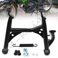 For KAWASAKI VERSYS-X 300 VERSYS X300 300X VERSYSX300 2017 2018 2019 Motorcycle Center Central Parking Stand Firm Holder Support obdstar x300 pad2 x300 dp plus c package full version 8inch tablet support ecu programming and toyota smart key