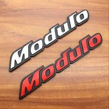 цена на For Honda Civic Accord CRV 3D Aluminum Mugen Emblem Chrome Rear Badge for car trunk sticker Car-Styling fit black and red