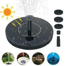 Мини Фонтан на солнечных батареях садовый бассейн пруд плавающий