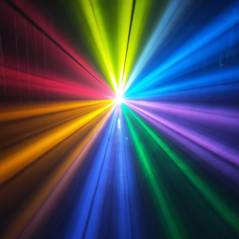 Faisceau d'écran tactile de haute qualité 230w 7r faisceau aiguisé lumière principale mobile avec 2 prismes effet arc-en-ciel coloré et powercon dans - 3