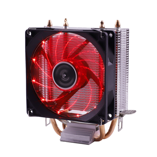 Efficient Cooling CPU Cooler Fan 3pin For Intel LGA 1150 1151 1155 1156 775 1200 AMD AM3 AM4 Quiet Ventilador Silent Radiator 6