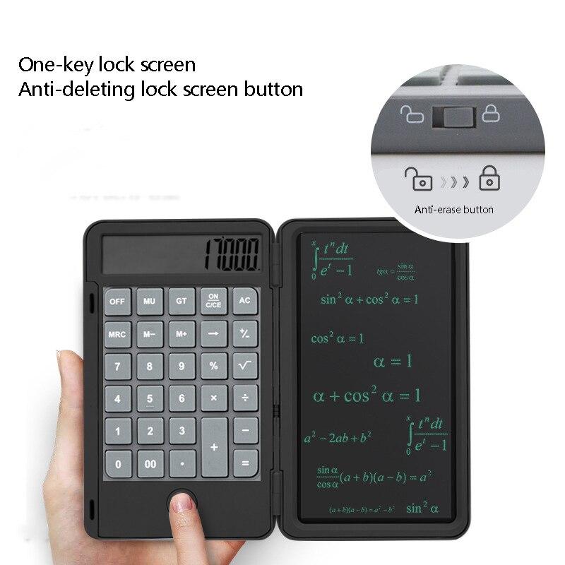 Tablet tablet com calculadora e desenho inteligente