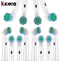 8 шт кросс-функции 3D PRO сменные насадки для зубных щеток совместимы с Oral B электрической зубной щеткой D12 D16 D29 D20 D32 OC20 D10