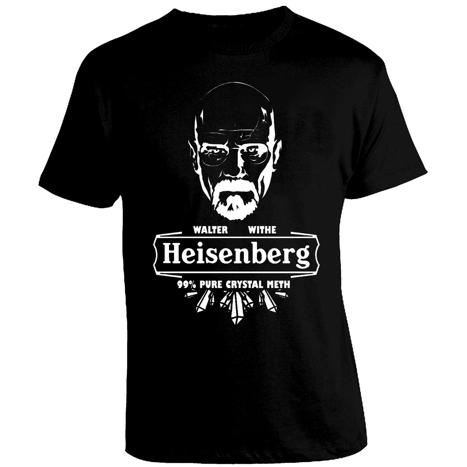 <font><b>Mesh</b></font> <font><b>tshirt</b></font> Heisenberg Breaking Bad Walter White TV Show <font><b>Men</b></font> Women <font><b>tshirt</b></font> Free Shipping All Colors image