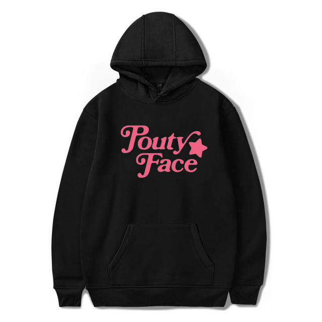 ADDISON RAE POUTY FACE THEMED HOODIE (13 VARIAN)