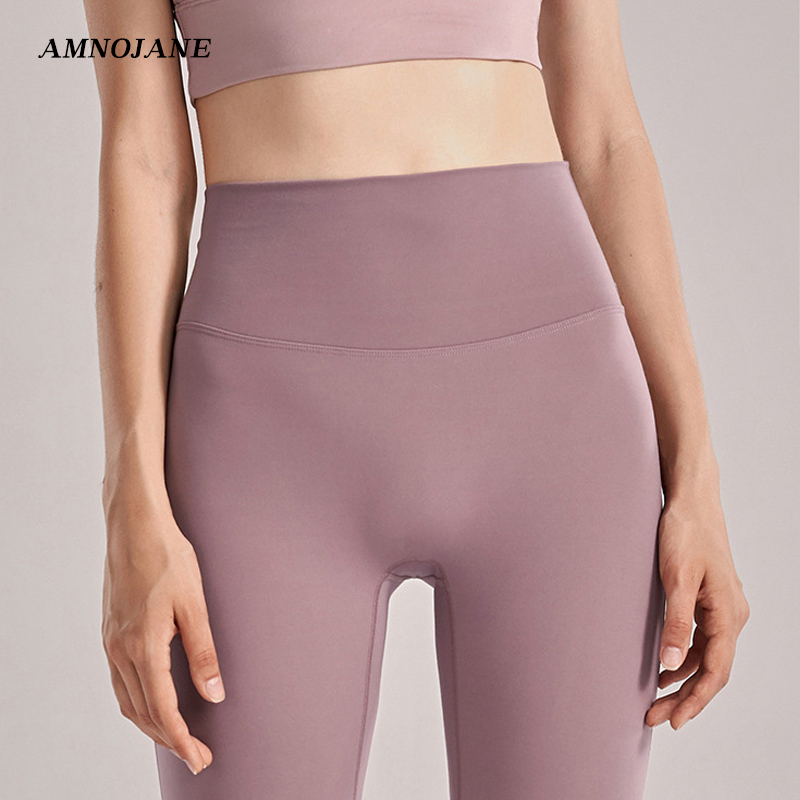 Seamless Colorvalue Gym Leggings Sport Women Fitness Clothing Running Yoga Pants Push Up High Waist Tights Legging Sport Femme