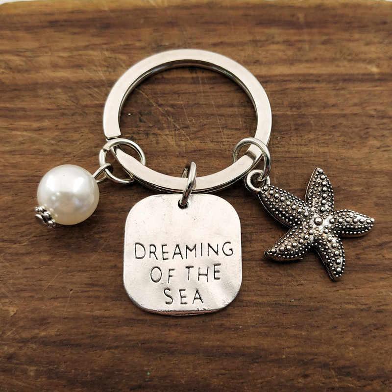 1 adet yaz tarzı Mermaid denizyıldızı kabuk anahtarlık kaplumbağa anahtarlık deniz kaplumbağası anahtarlık plaj kadın çantası hediye takı
