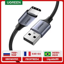 UGREEN Micro USB C tipo C cavo di ricarica USB veloce tipo-c cavo dati 3A per Samsung S7 S6 nota cavo Micro USB per telefono cellulare
