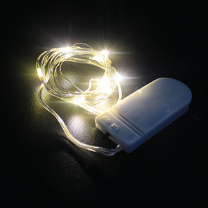 2M 20 LED Battery Operated Cop
