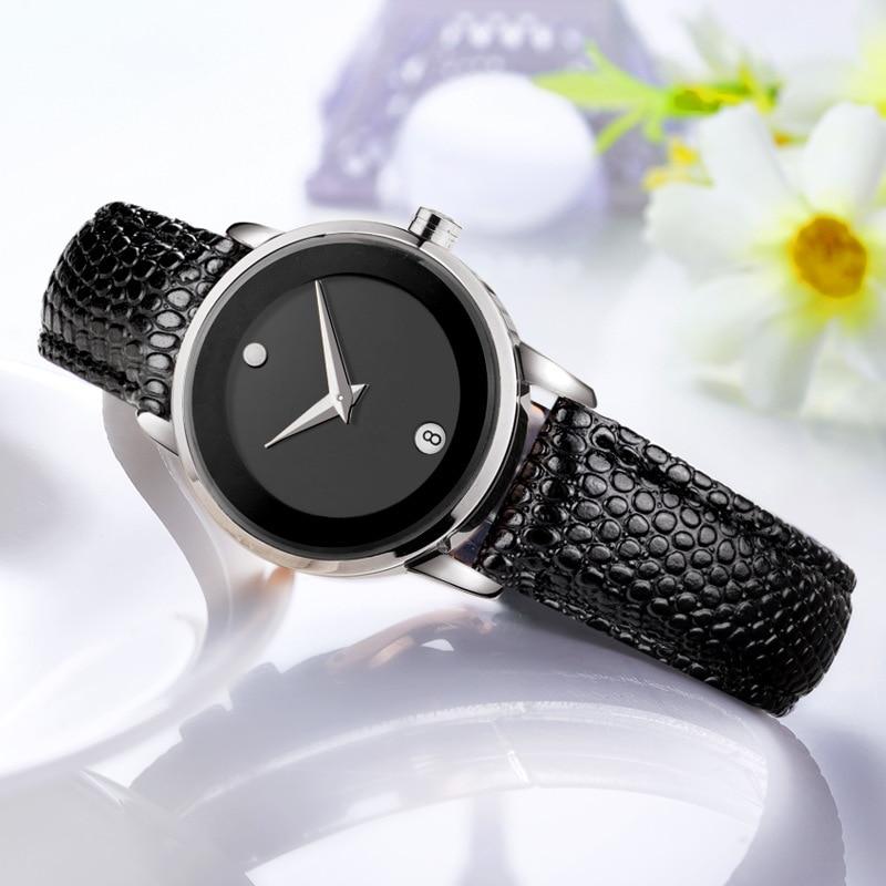 DOM (Dom) Trend of Fashion Genuine Leather Belt WOMEN'S Watch Waterproof Fashion Ladies' Watch GS-1075-1M