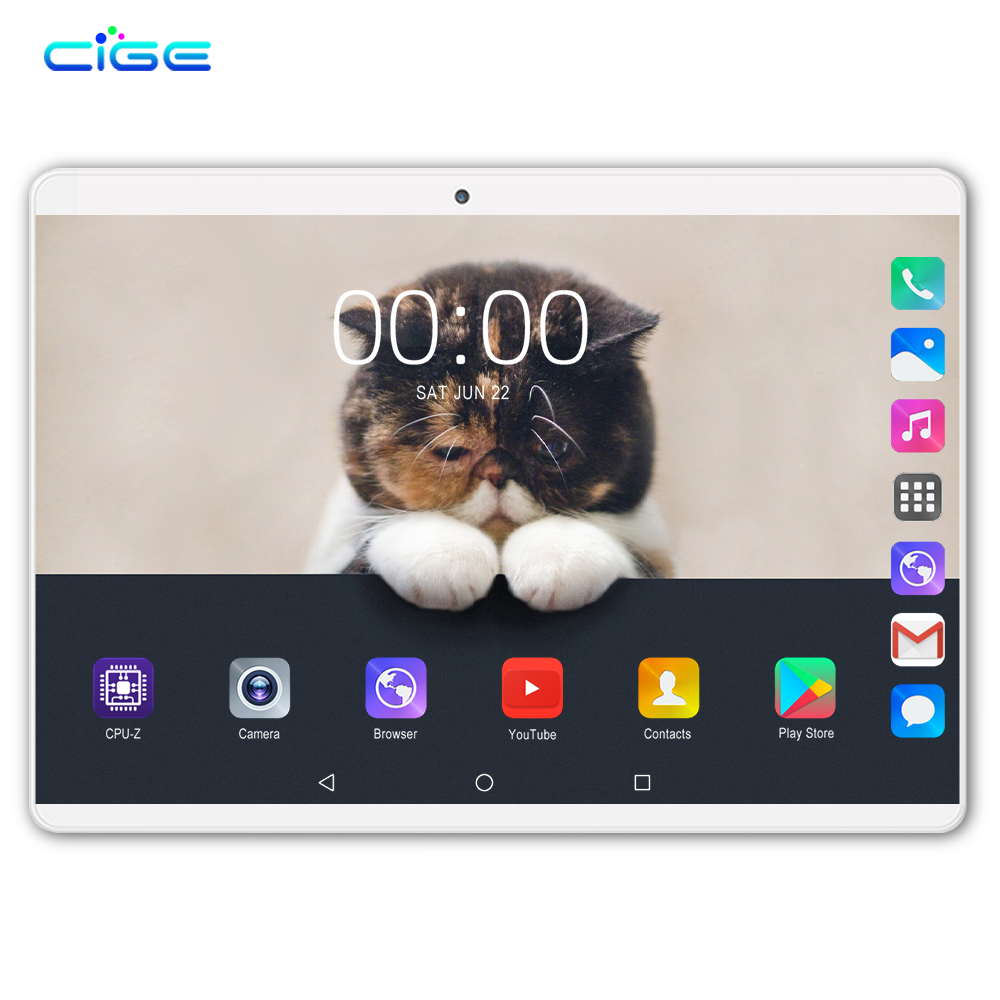 2019 New 10.1 Inch Tablet Pc Octa Core 6GB 64GB Tablets Android 8.0 WiFi Bluetooth GPS 3G 4G Lte Phone Call Dual SIM 10 Tab