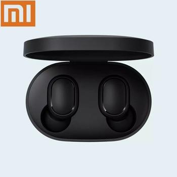 цена на Original Xiaomi Mi Redmi AirDots TWS Wireless Bluetooth Earphone Stereo Bluetooth 5.0 Mini Headset Sport In-ear Mic Headset