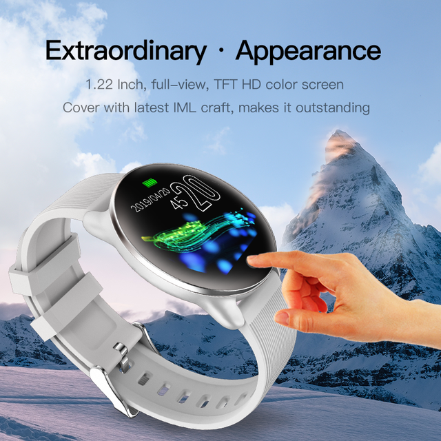 Reloj inteligente Deportivo Android iOS WhatsApp Llamadas