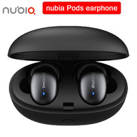 Original nubia Pods wireless earphone Bluetooth 5.0 headphones with aptx HD audio microphone True wireless Bluetooth earphones