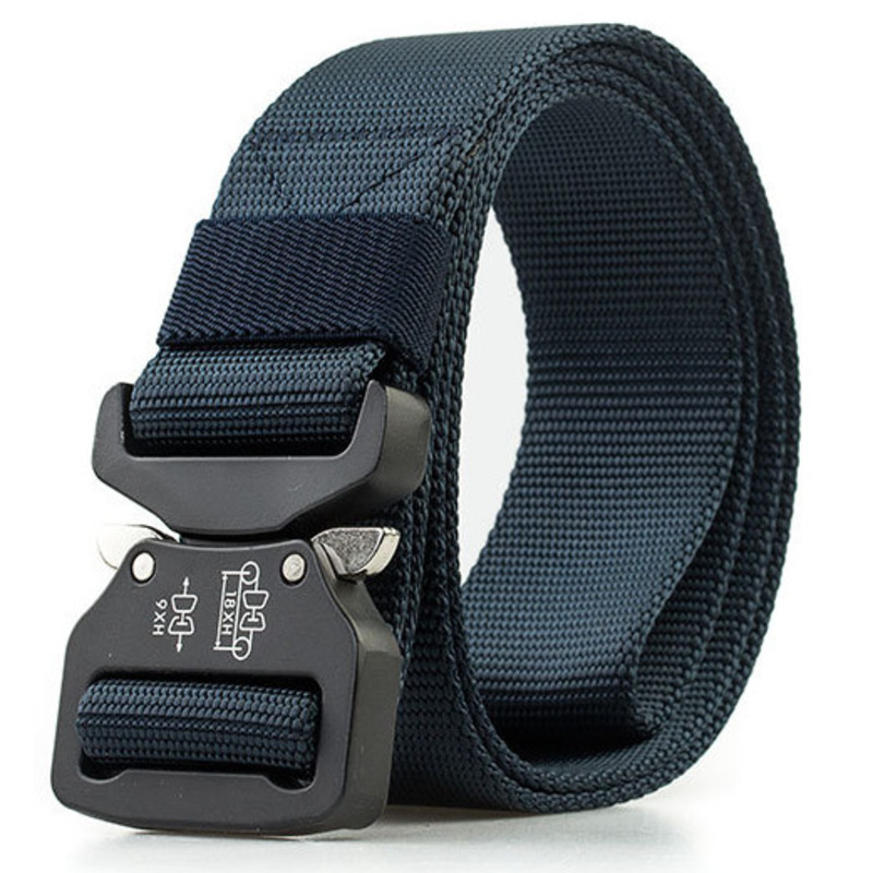 EWQ / New Multi-color Nylon Camouflage Cobra Buckle Outdoor Wear-resistant Pull-resistant Anti-detachment Tactical Belt 9Y411