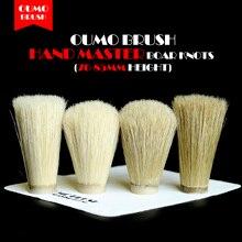 OUMO BRUSH- boar bristle hair knot shaving brush