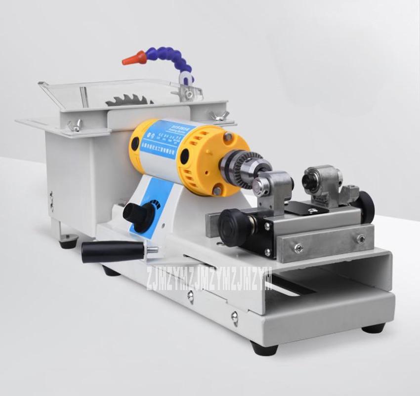 Multifunctional Bench Grinder Jade Cutting / Drilling / Grinding / Engraving / Bead Polishing / Wax Table Grinder 110/220V 750W
