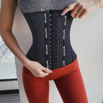 Latex Waist Trainer Corset Belly Slim Belt Tummy Shaper Body Shapers Modeling Strap Slimming Waist Cincher fajas colombianas 1