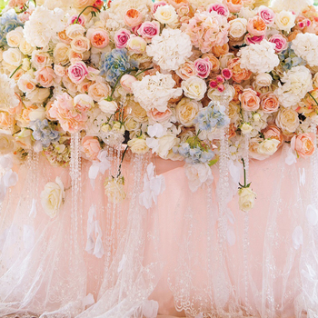 Laeacco Vinyl Wedding Backdrops For Photography Blossom Flowers Rose Party Birthday Love Child Portrait Photographic Background