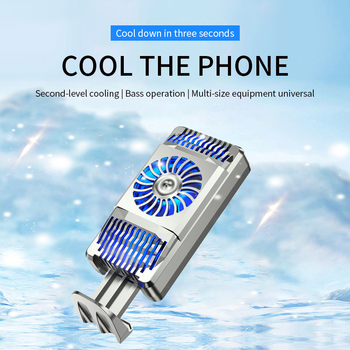 Mobile Phone Cooler USB Fan Lightweight Radiator Anti-noise Handheld Heatsink Stand for PUBG Mobil Controller Gaming Accessories