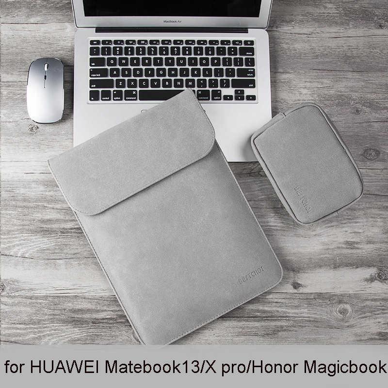 """גברים מחשב נייד שרוול מקרה עבור HUAWEI Matebook 13/x pro מחשב נייד תיק כיסוי עבור HUAWEI honor Magicbook נשים 14 אינץ Ultrabook מקרה 13"""""""