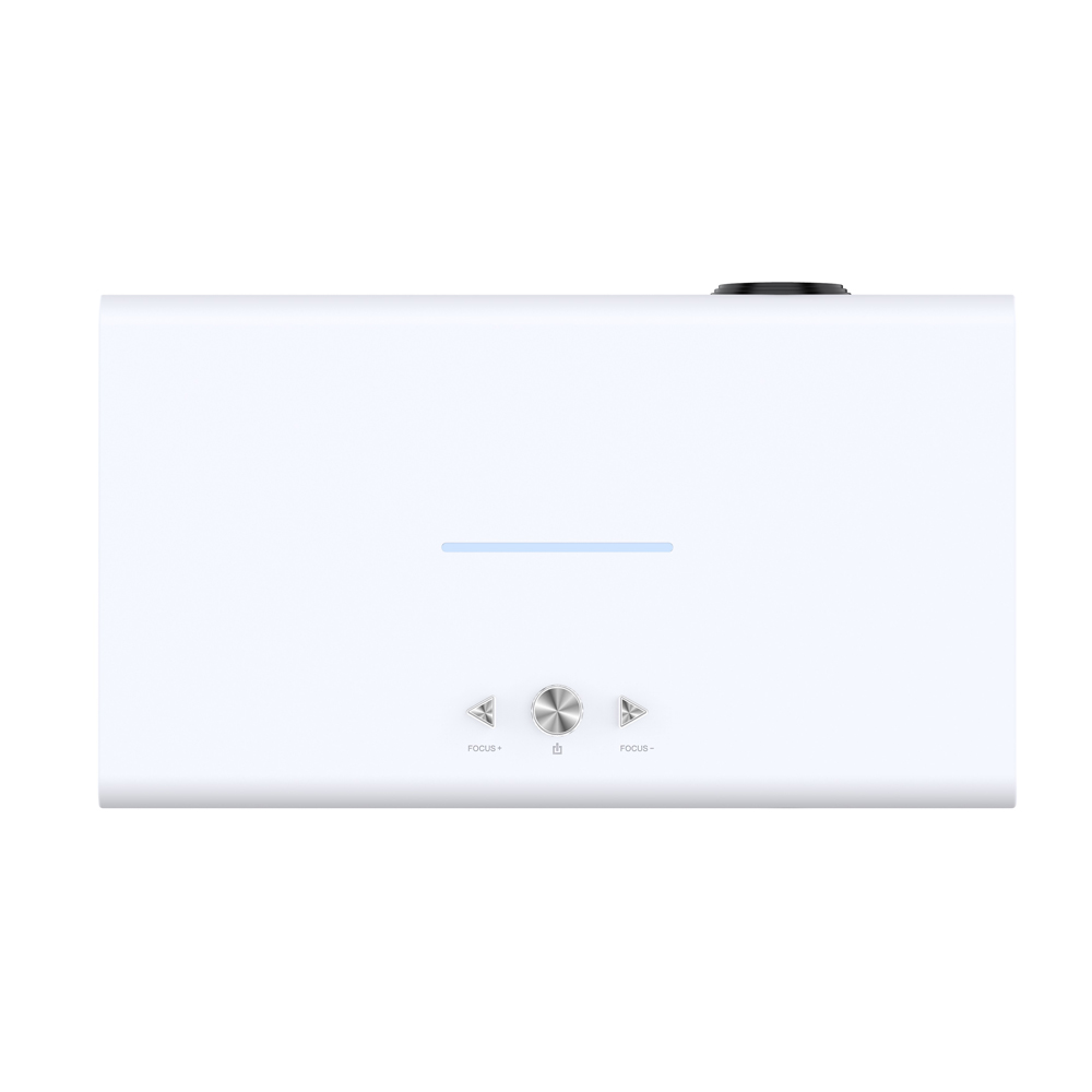 V6 DLP Tragbare Intelligente Projektor MStar6A648 Android 6,0 4K H.265 1280*800 2G 32G BT 4,0 2,4G 5G WIFI 3800Lumen Mini Projektor