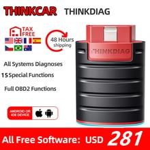 Thinkcar ThinkDiag obd2 Code Reader Scanner Automative diagnose tool Fahrzeug 15 reset service Aktive Test pk EasyDiag AP200