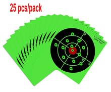 Splatter Targets - 8 Shooting Targets Paper Card - Bullseye Reactive Shooting Upon Impact - Gun - Rifle - Pistol -  (25PCS) iprs protection and their impact upon fdi gdp growth
