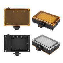 96 ledスタジオ電話ledビデオ撮影光youtubeのライブストリーミング調光可能な2色温度ビデオランプ