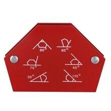 Шестигранный Сварочный позиционер 25LB Магнитный фиксированный угол пайки локатор инструменты без переключателя сварочные аксессуары