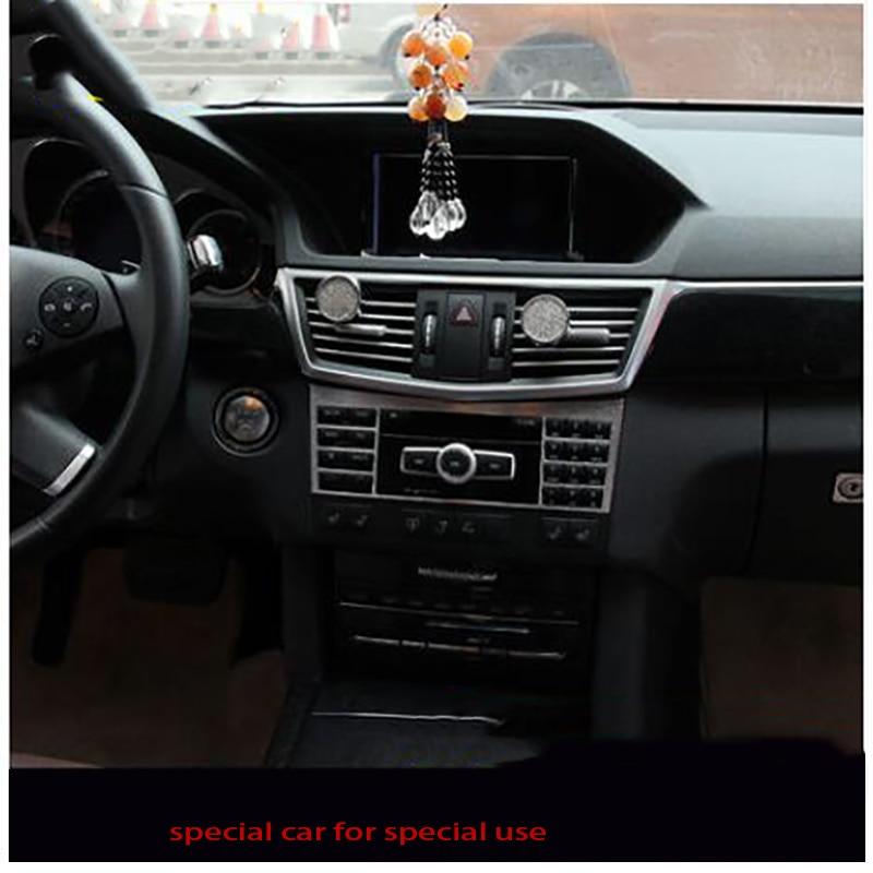 Aluminum Front Glove Box Handle Panel Trim For Mercedes-Benz E Class W212 10-15