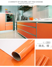 wall stickers kitchen furniture decoracion paredes with Waterproof and moisture-proof smooth wallpaper roll decal
