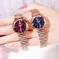 Wrist Watches for Gift Women Alloy Gold Watch Top Brand Luxury Casual Dresses High Quality for Ladies Popular New Fashion 2019
