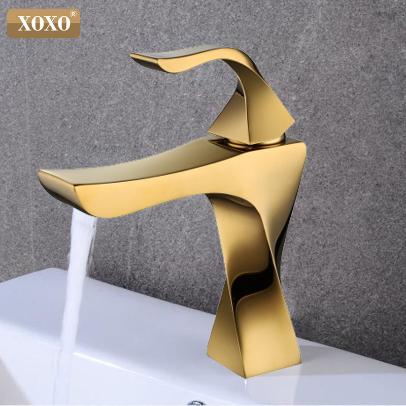 Xoxo Basin Faucets Brass Taps Contemporary Single Handle Mixer Tap