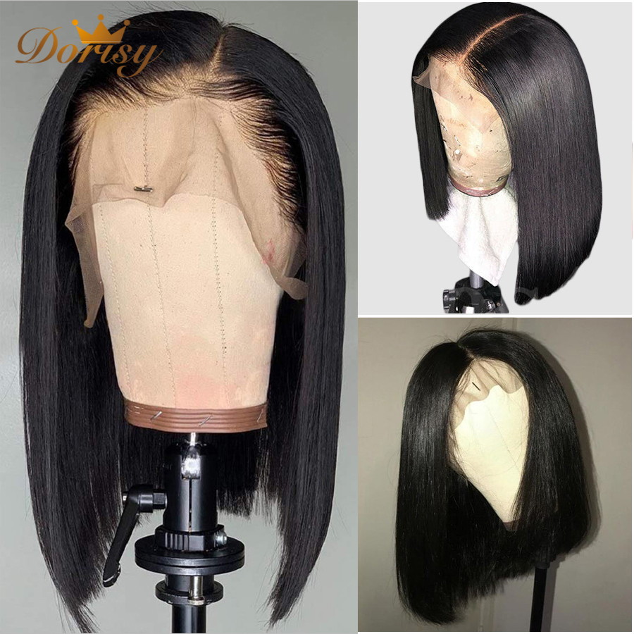 Bob Human Hair Wigs Short Human Hair Wigs Lace Front Wigs For Women 13×5 Remy Hair Lace Front Human Hair Wigs Pre Plucked Hair