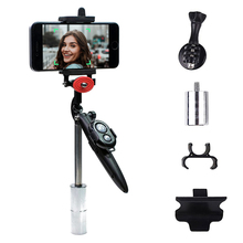 funsnap capture smartphone selfie brushless stabilizer handheld 3axis gimbal with clip adapter for gopro yi sargo cam phone Camera Phone Stabilizer Gimbal Handheld Camera Stabilizer Phone Smooth Video Zoom Control Steadycam for Smartphone For GoPro