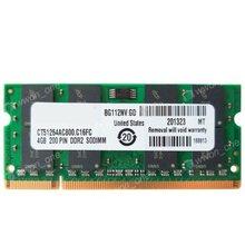 4GB PC2-6400S DDR2 Memória 800Mhz Para GL40 GM45 GS45 PM45 PM65 PM945 965 chips